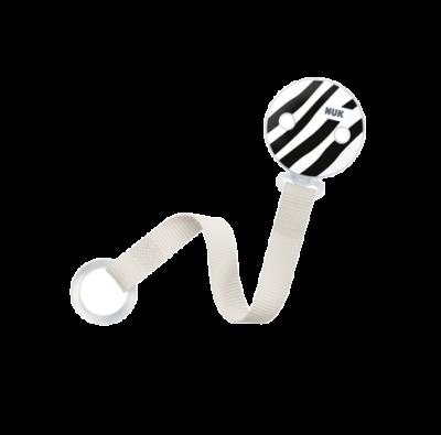 Nuk Κορδέλα Monochrome για την Πιπίλα 1τμχ