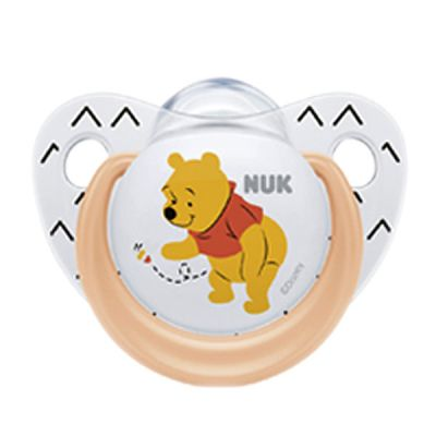 Nuk Trendline Disney Σιλικόνης Winnie Πορτοκαλί 6-18m, 1τμχ