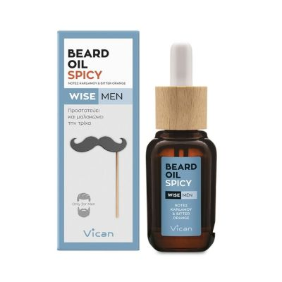 Vican Wise Men Beard Oil Spicy 30ml