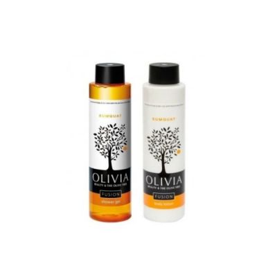 Olivia Fusion Kumquat Set (Shower gel + Body lotion) 2x300ml