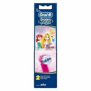 Oral-B Stages Power Disney Ανταλλακτικά για Ηλεκτρική Παιδική Οδοντόβουρτσα 2τμχ