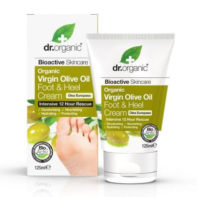 Dr.Organic Virgin Olive Oil Hand & Nail Cream Κρέμα Χεριών & Νυχιών 125ml