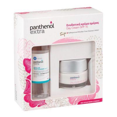 Panthenol Extra Πακέτο Day Cream SPF15 50ml & ΔΩΡΟ Micellar True Cleanser 3 in 1 100ml