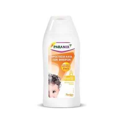 Paranix Protection Shampoo 2 in 1 Απαλό Σαμπουάν για Προστασία κατά των Φθειρών, 200ml