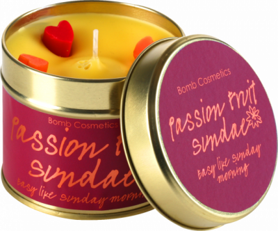 Bomb Cosmetics Passion Fruit Sundae Handmade Candle 1τμχ 243g