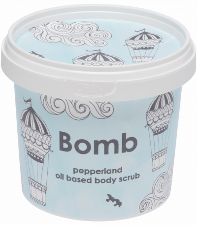 Bomb Cosmetics Pepperland oil based Body Scrub 365ml