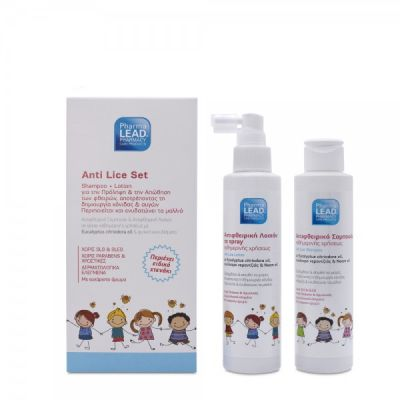 Pharmalead Anti Lice Set Αντιφθειρικό Σαμπουάν & Λοσιόν 2 x 125ml