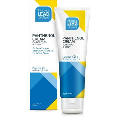 Pharmalead Panthenol Cream Ενυδατική Κρέμα για Ξηρό & Ευαίσθητο Δέρμα 100ml