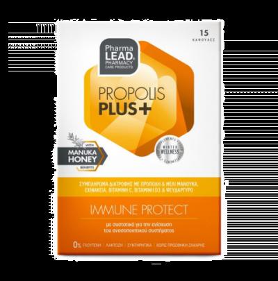 Pharmalead Propolis Plus+ Immune Protect 15 Κάψουλες