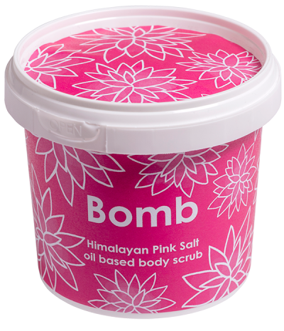 Bomb Cosmetics Himalayan Pink Salt oil based Body Scrub 365ml