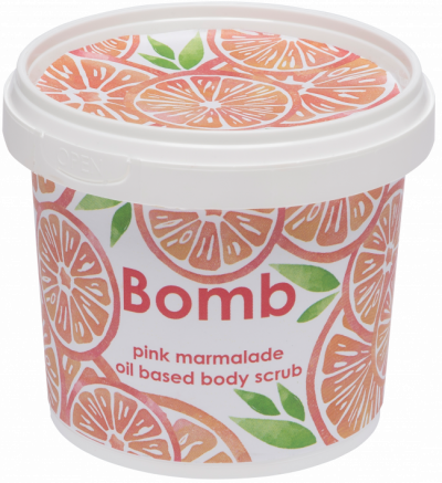 Bomb Cosmetics Pink Marmalade Body Scrub 365ml