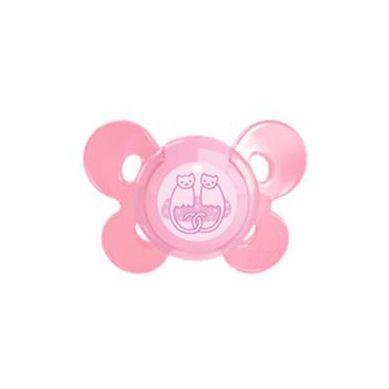 Chicco Πιπίλα Physio Comfort Ροζ 4+, Σιλικόνη με Θήκη, 1τμχ