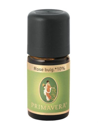 Primavera Αιθέριο Έλαιο Τριαντάφυλλο Βουλγαρίας 10% ( Rose Bulgarian Oil) 5ml