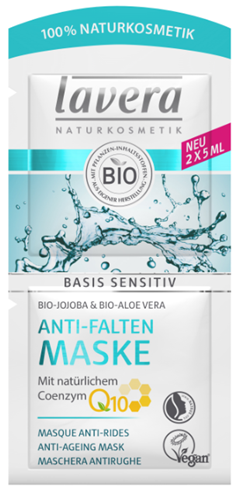 Lavera Basis Sensitiv Q10 Μάσκα Προσώπου 10ml
