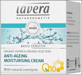 Lavera Basis Sensitiv Q10 Ενυδατική Κρέμα Ημέρας (Με Αντιγηραντική Δράση) 50ml