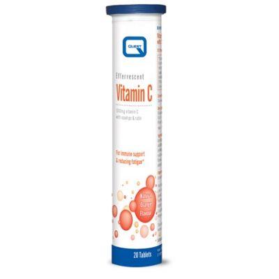 Quest Βιταμίνη C 1000mg, 20 Αναβράζοντα Δισκία