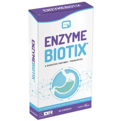 Quest Enzyme Biotix Συνδυασμός Πεπτικών Ενζύμων 30 Κάψουλες