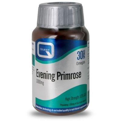 Quest Evening Primrose (10% GLA) 1000mg, Έλαιο Νυχτολούλουδου, 30 Κάψουλες