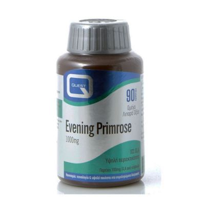 Quest Evening Primrose (10% GLA) 1000mg, Έλαιο Νυχτολούλουδου, 90 Κάψουλες