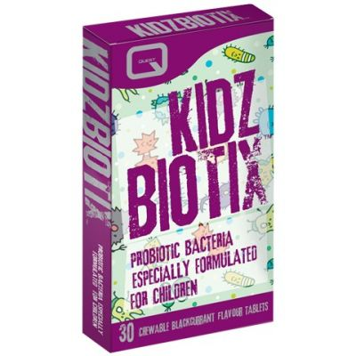 Quest Kidz Biotix-Προβιοτικά για Παιδιά 30 Μασώμενες Ταμπλέτες