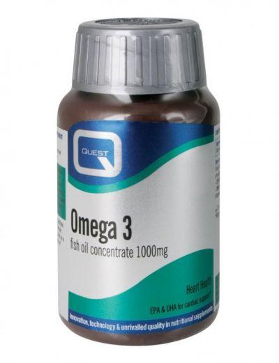 Quest Omega 3 Fish Oil 1000mg  90 Κάψουλες