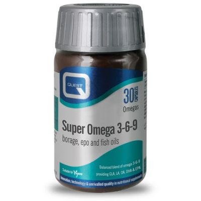 Quest Super Omega 3-6-9 30 Κάψουλες