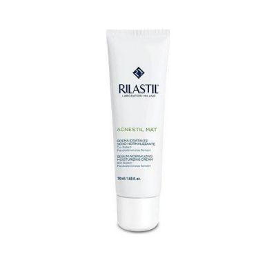 Rilastil Acnestil Mat Sebum-Normalizing Mouisturizing Cream 50ml