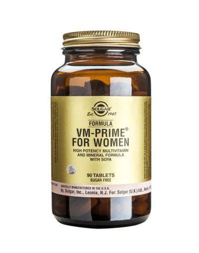Solgar Formula VM-Prime ™ for Women 90 Ταμπλέτες