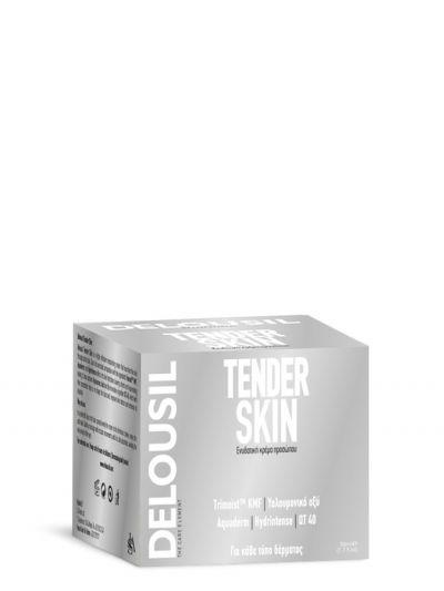 SJA Pharm Delousil Tender Skin Ενυδατική Κρέμα Προσώπου 50ml