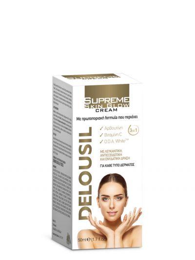 SJA Pharm Deolusil Supreme Skin Glow Cream 24ωρη Κρέμα Προσώπου, 50ml