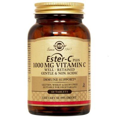 Solgar Ester-C® 1000mg Vitamin C 60 Ταμπλέτες