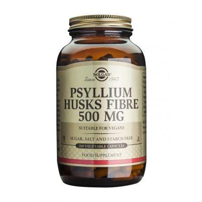Solgar Psyllium Husks Fibre 500mg 200 Φυτικές Κάψουλες