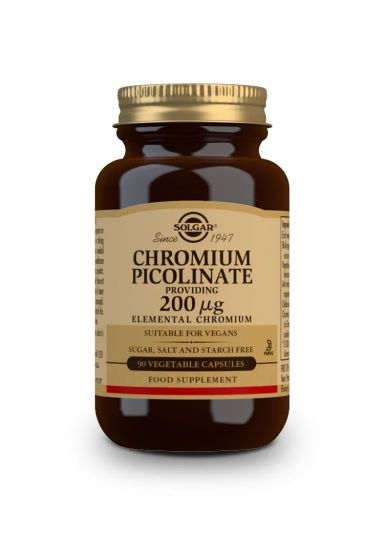 Solgar Chromium Picolinate 200 μg 90 Κάψουλες