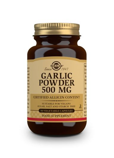 Solgar Garlic Powder 500mg 90tabs