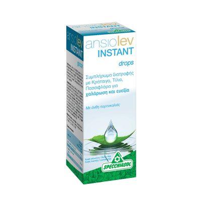 Specchiasol Ansiolev Instant Drops Συμπλήρωμα Διατροφής για Χαλάρωση & Ευεξία 20 ml