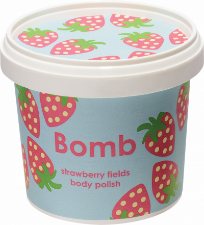 Bomb Cosmetics Strawberry Fields Body Polish 365ml