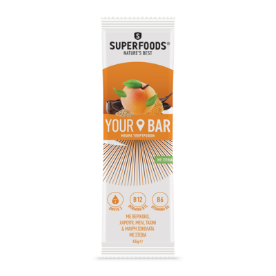 Superfoods Your Bar Βερίκοκο 45g