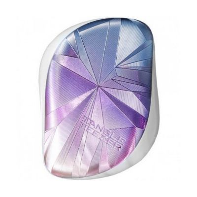 Tangle Teezer Compact Styler Smashed Holo Blue Pink Hairbrush