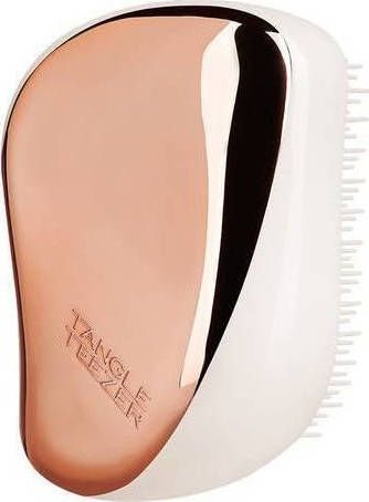 Tangle ® Teezer Compact Styler Rose Gold/Ivory Hairbrush