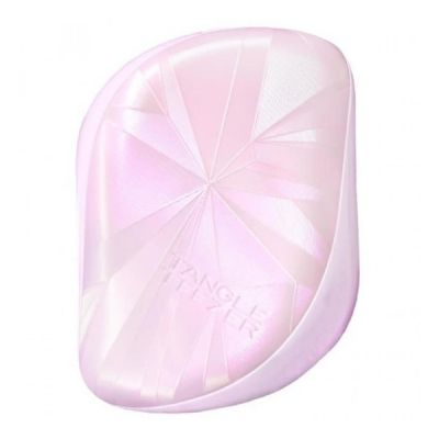 Tangle ® Teezer Compact Styler Smashed Holo Light Pink Hairbrush