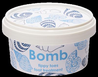 Bomb Cosmetics Αναζωογονητική κρέμα ποδιών Tippy Toe 210ml