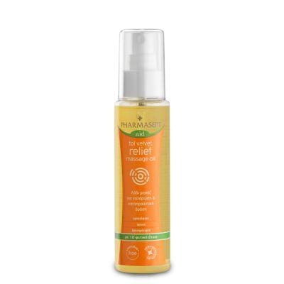 Pharmasept Tol Velvet Relief Massage Oil -Λάδι Mασάζ Σώματος Για Χαλάρωση & Καταπραϋντική Δράση 100ml