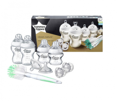 Tommee Tippee Closer To Nature Σετ Transparent 9τμχ