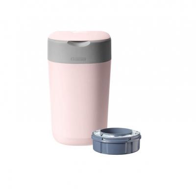 Tommee Tippee Κάδος Twist & Click Ροζ, 1τμχ