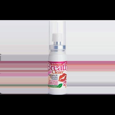 Unipharma Breath Clean Για Τη Στοματική Κακοσμία Με Γέυση Δυόσμο 20ml