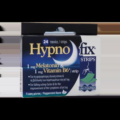 Unipharma Hypno Fix Strips 24 ταινίες