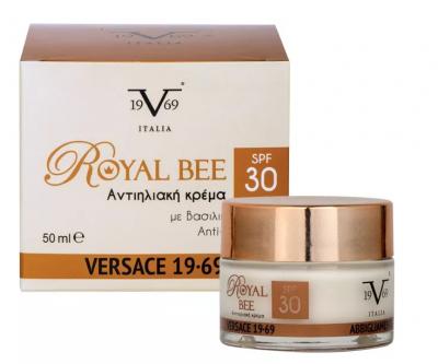 VERSACE 19V69 Italia Royal Bee Moisturiser Cream SPF 30 50ml