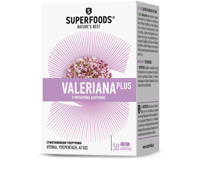 Superfoods Valeriana Plus 300mg 50caps