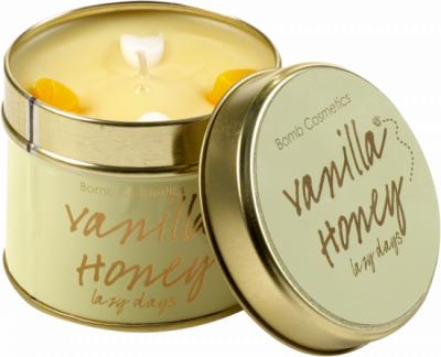 Bomb Cosmetics Vanilla Honey Handmade Candle 1τμχ 243g