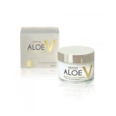 Premium Aloe V Ενυδατική Κρέμα Ημέρας 50ml